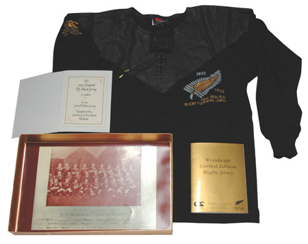 new product f01a3 495d8 Canterbury Commemorative All Blacks Jersey - Limited Edition