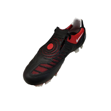 united states 100% high quality free shipping Nike Total 90 Laser II K-FG Cleat (Black)