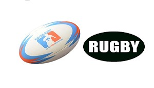 Youth Rugby Ball and Magnet