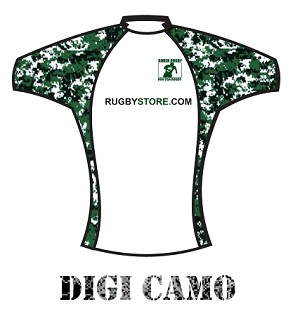 Custom Jersey Design - Digital Camo
