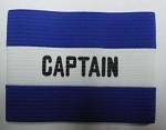 Kwik Goal Captain Arm Band - Blue