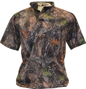 P3 Patterned Practice Jersey - Hunting Camo