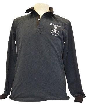 Schoolhouse Long Sleeve Rugby Jersey