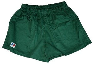 Godek Cotton NZ Rugby Shorts - Forest