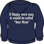 If Rugby Were Easy Hoodie